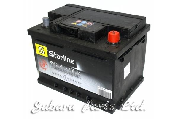 Акумулатор Starline 60Ah, десен +