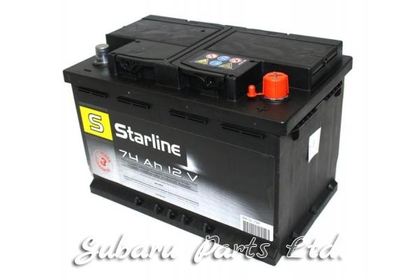 Акумулатор Starline 74Ah, десен +