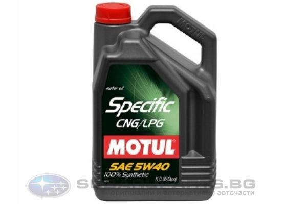 Motul Specific CNG-LPG 5W-40 5l.
