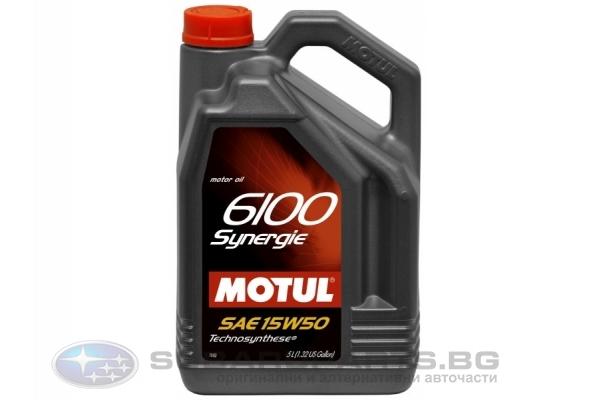 Motul 6100 Synergie + 15w50 5L